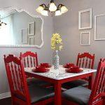 yemek odasında kırmızı kullanımı
