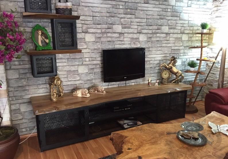 Doğal Ağaç Tv Sehpaları 2019