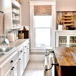 mutfak modern rustik tarzı