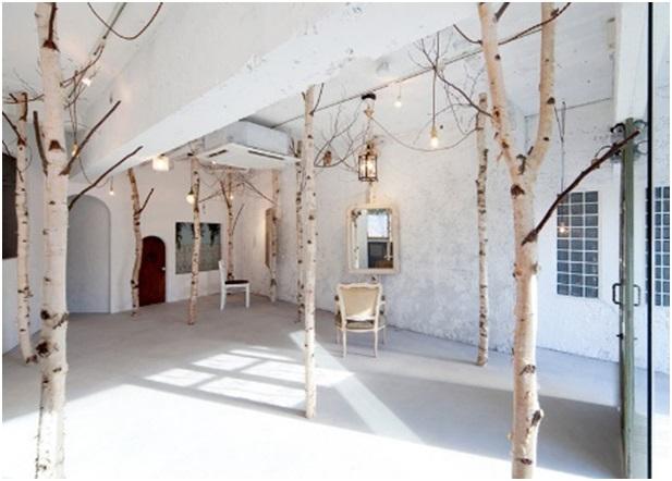 ağaç direklerden ahşap dekorasyon fikirleri