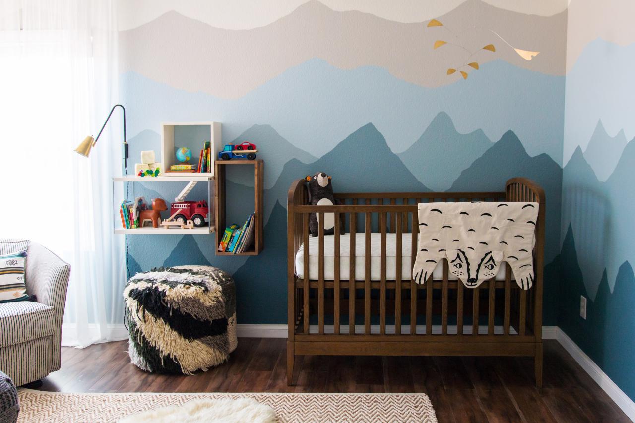 Bebek odası için duvar dekoru