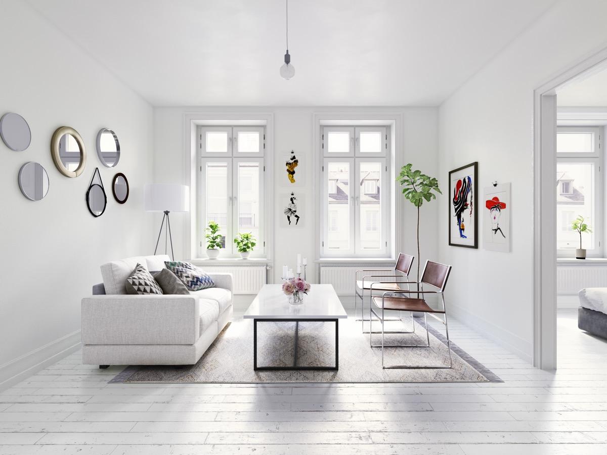 Minimal Beyaz Dekorasyon Örnekleri