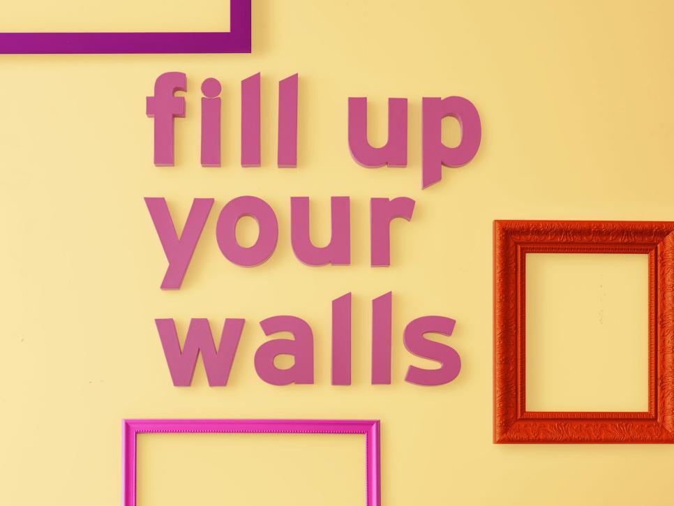 Duvarlarınızı Doldurun : Kolay Duvar Dekorları