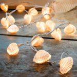 midye kabuklarından lamba yapımı