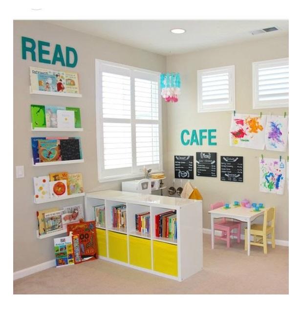 Renkli Çocuk Odası Dekorasyonu