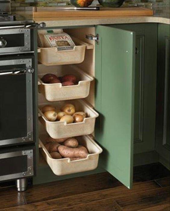 mutfak dolabı çekmece çözümleri