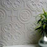 kabartma desenli boyanabilir duvar kağıtları