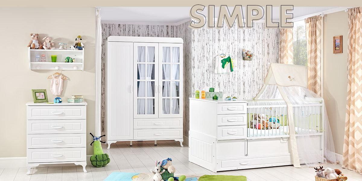 Şanslı Bebekler : Caploonba Bebek Odası Modelleri