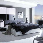 gri yatak odası dekorasyonlarıı