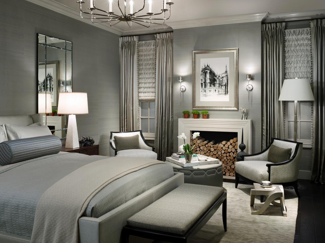 Gri Yatak Odası Dekorasyonu İle Huzuru Yakalayın