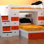 Dekoratif Renkli Yatak Odası Dolap Modelleri