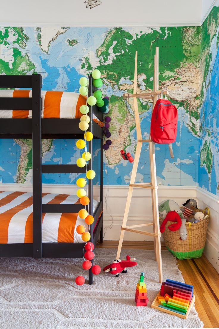 Renkli Erkek Çocuk Odası Modelleri