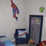 Örümcek Adam Temalı Duvar Stickerları