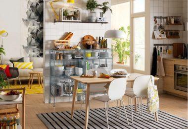 İkea Ahşap Mutfak Masası