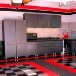 Red Kitchen Ideas 2017 With Kitchen Cool Red Grey Modern Kitchen Decoration