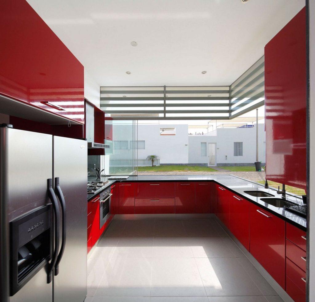 Kırmızı Mutfak Dekorasyon Fikirleri
