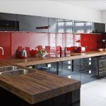 kırmızı mutfak dekorasyon örnekleri