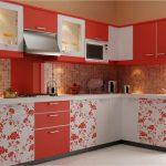 kırmızı mutfak dekorasyon örnekleri,
