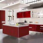 kırmızı mutfak dekorasyonları