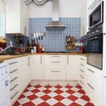 Kırmızı Beyaz Mutfak Örnekleri