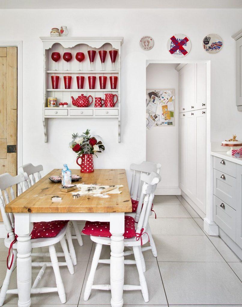 Красная Кухня Украшая Идеи