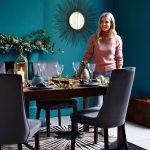 Klasik tarz yemek odası ve soft bir tasarım
