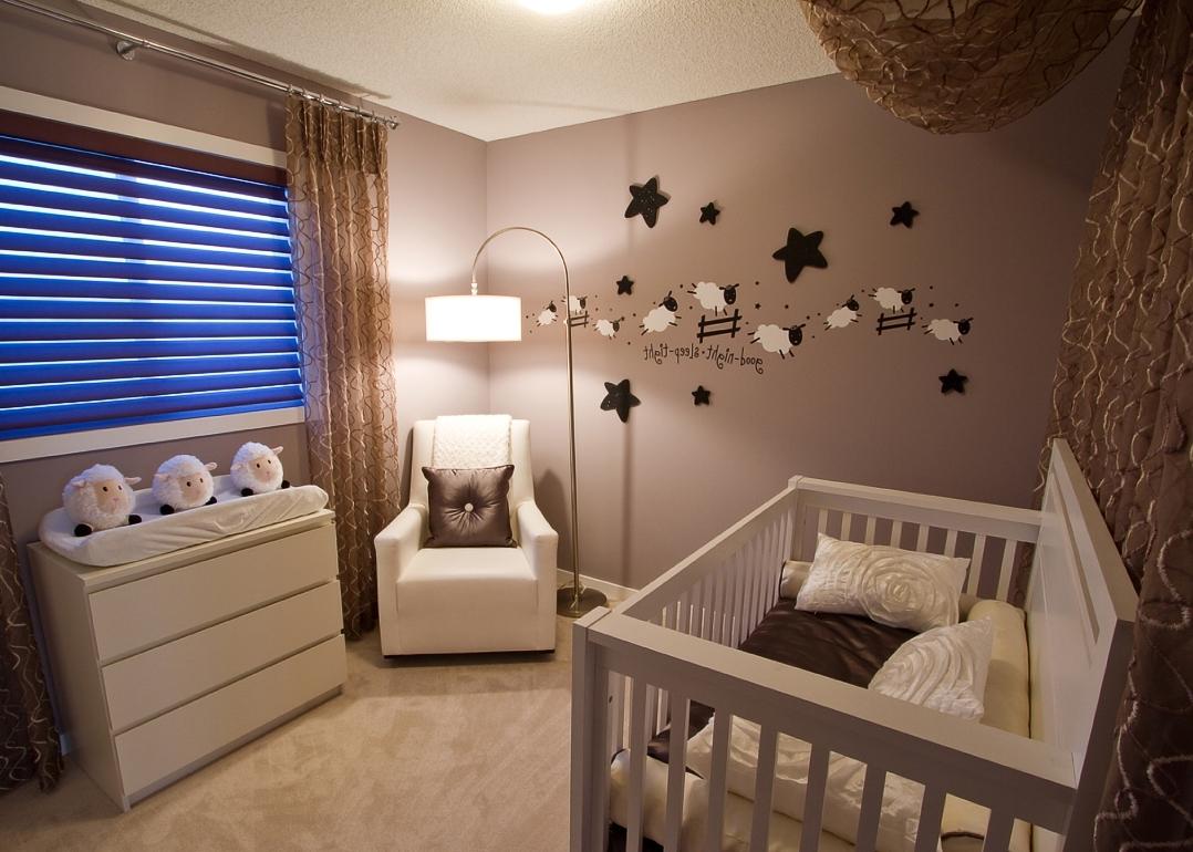 Küçük Bebek Odası Nasıl Dekore Edilmeli