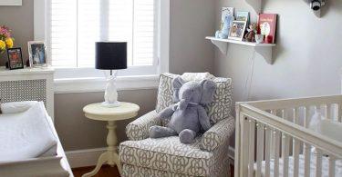 küçük bebek odası dekorasyonu