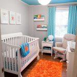 küçük bebek odası dekorasyonları