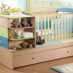 küçük bebek odası dekoru