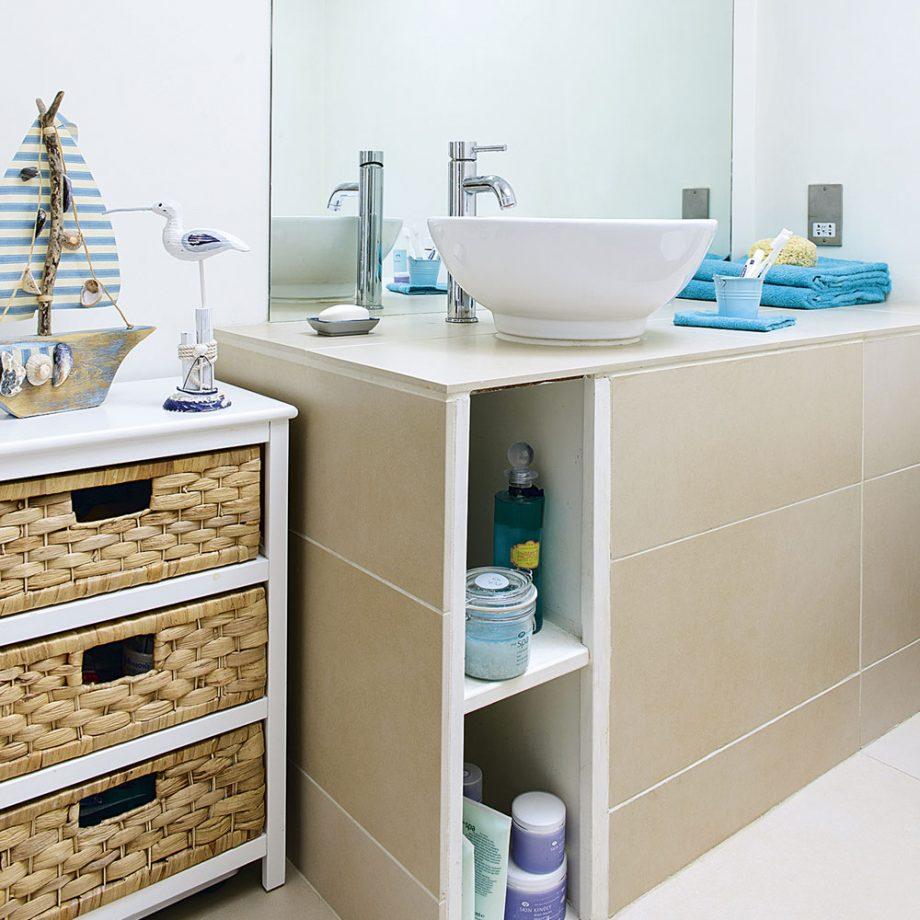 Küçük Banyolar İçin Depolama Alanları