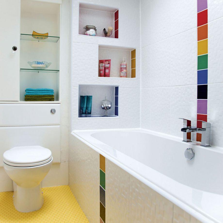 Küçük Banyoları Renklendirme
