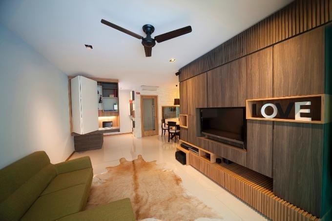Wooden Tv Niche Model