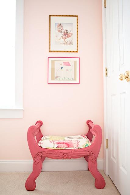 Pudra Rengi Çocuk Odası Dekorasyonu