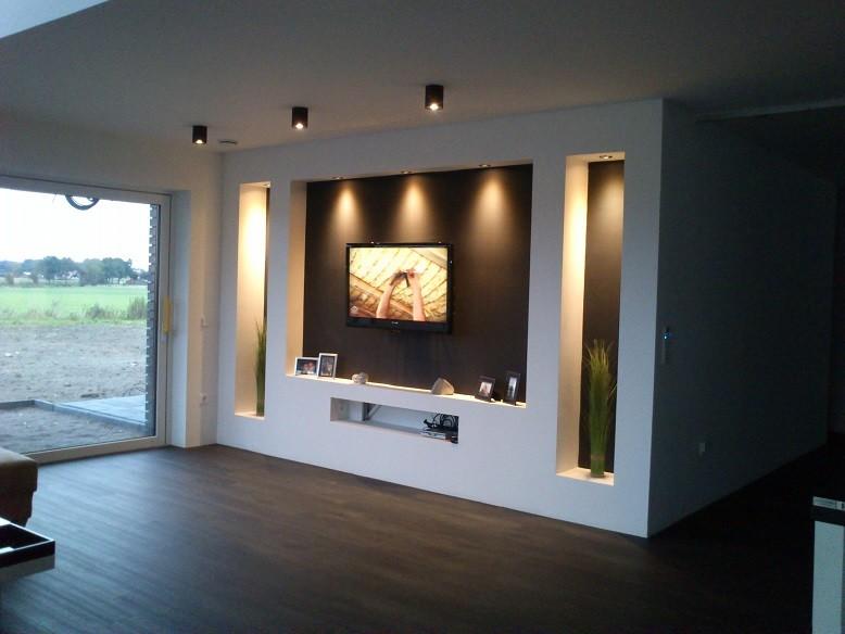 Living Room TV Niche Model