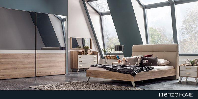 enza home lina yatak odası