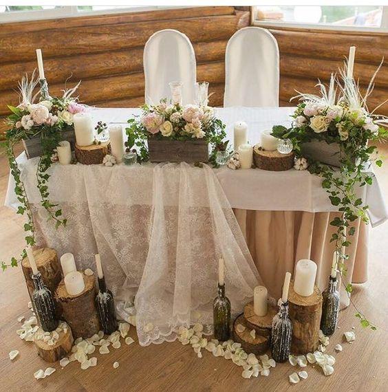 kır düğünü için dekorasyon fikirleri