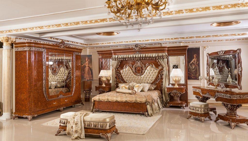 Luxury Line Yatak Odası Modelleri İle İhtişamı Yaşayın