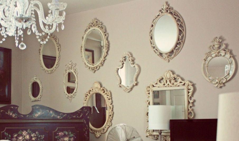 Yuvarlak Ayna Dekorasyonu