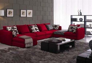 kırmızı koltuğa uygun halı
