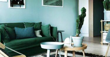 Yeşil Koltuk Takımına Uygun Duvar Rengi