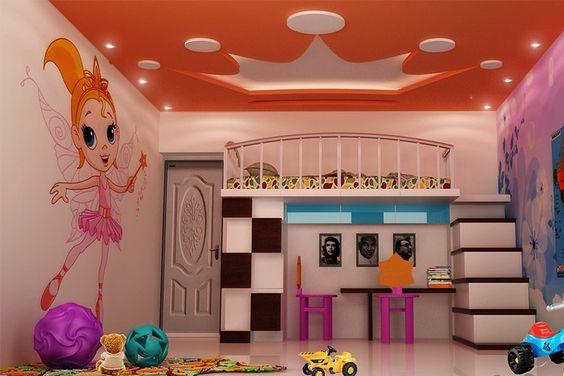2019  Çocuk Odası Dekorasyon Renkleri