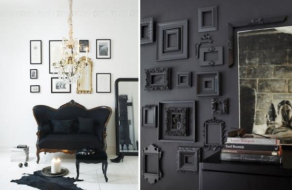 Siyah Dekorasyon Örnekleri