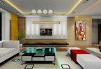 2020 Ferah Salon Dekorasyonu
