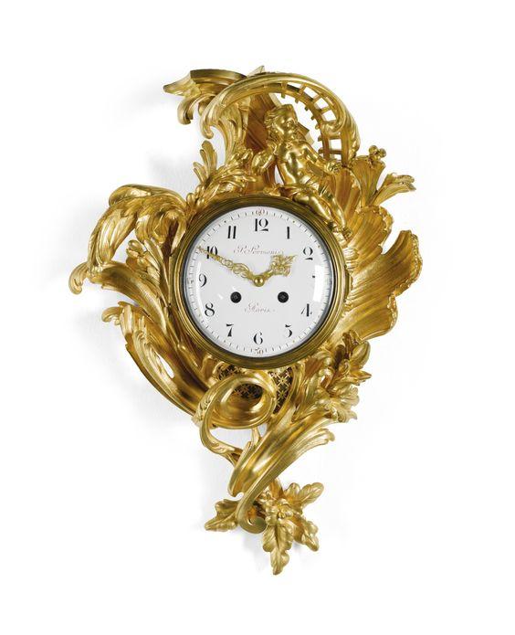 Altın Varaklı Duvar Saatleri