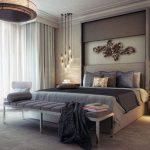 Modern yatak odası dekoru