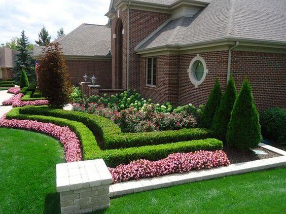 2019 Bahçe Çim Dekorasyonu