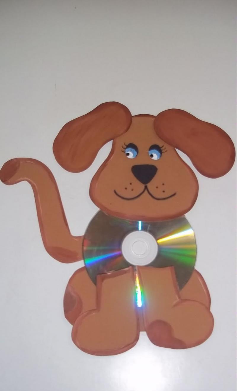 CD ' den köpek yapım aşamaları
