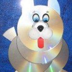 CD ' lerden köpek yapımı