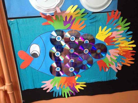 cd'den balık nasıl yapım